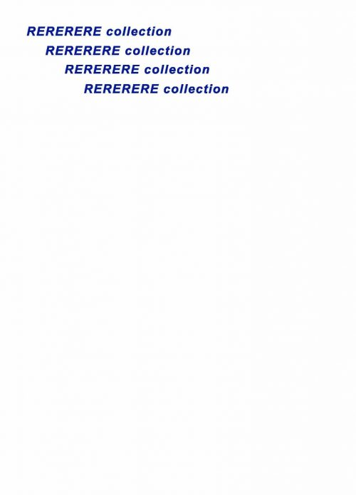 RERERERE collection